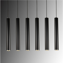 цены Creative Art Decor LED Pendant Lamp Bar Cylinder Pipe Pendant Light For Bar Kitchen Island Dining Living Room Shop Decoration