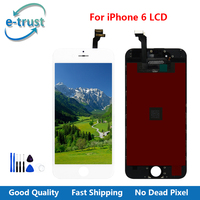 E Trust Replacement For IPhone 6 Display AAA Quality Touch Screen Digitizer Assembly Screw Tools Free