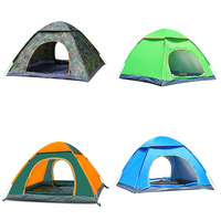 NEW Camping Tent Waterproof Hiking Tent Anti UV Folding Automatic Pop up Open Ultra Light Sun Protection Shed