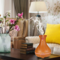 LED Night Light 14 Changing Color Ultrasonic Humidifier Essential Oil diffuserAromatherapy Electric Aroma Diffuser Mist Maker