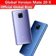 Celular huawei mate 20 x EVR-L29 versão global, smartphone com kirin 980, android 9.0, tela 7.2