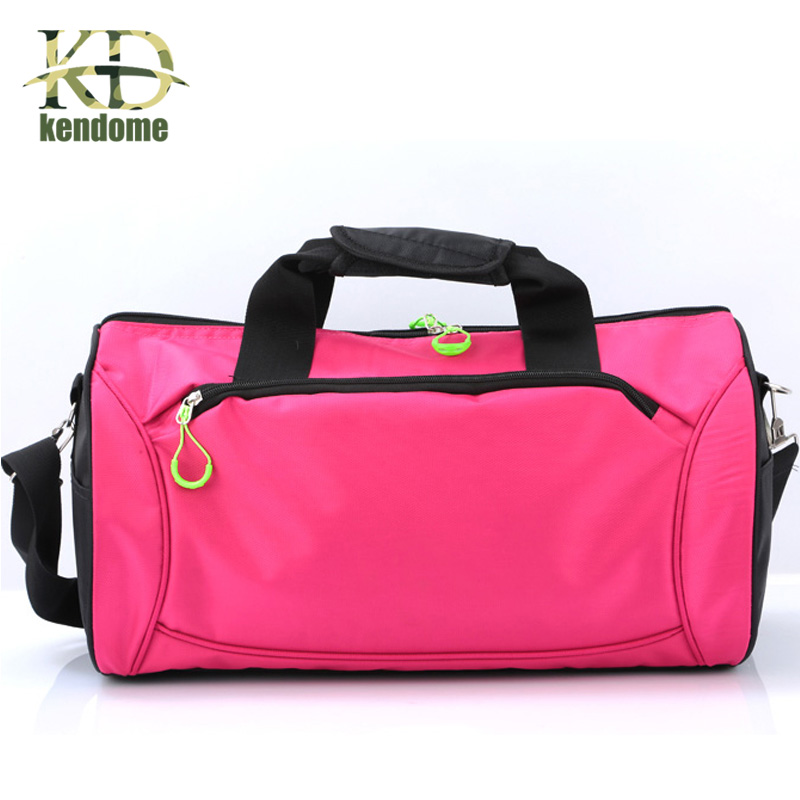 Waterproof Nylon Gym Sports Bag High Cost Performance Men Women Fitness Training Handbag Outdoor Camping Traveling Hiking Bag