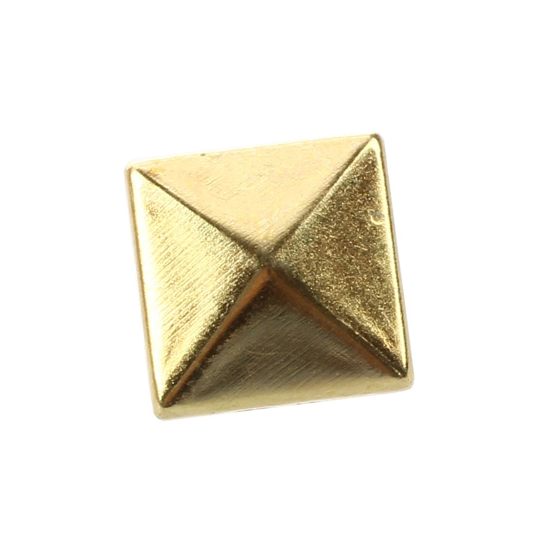 Pyramid Studs Bulk Gold Color Square 10mm-in Garment