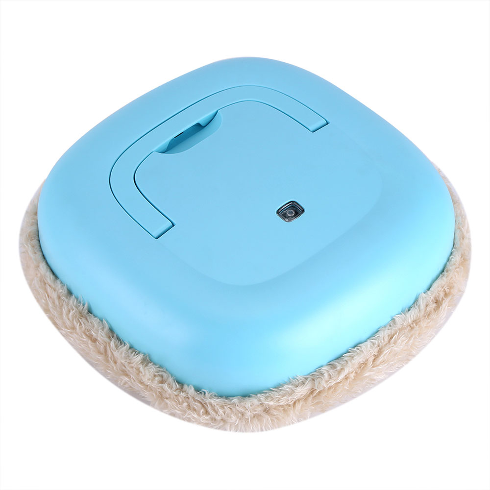 Умная машина для уборки уборочная Швабра робот Робот индукционный usb зарядка Многофункциональный бежевый/синий/зеленый автоматически - Цвет: blue
