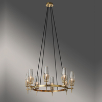 large ring italian bronze chandeliers 8 light brass dining fixtures unique french country linear chandelier candle drop light