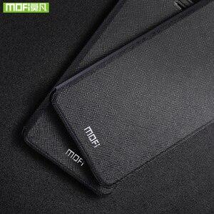 Image 4 - Para Huawei nova 3 funda para Huawei nova 3 funda de silicona nova 3 flip cuero Mofi para Huawei nova 3 funda 360 metal a prueba de golpes