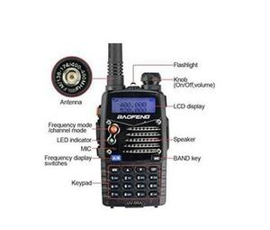 Image 2 - 새로운 도보 토크 pofung baofeng UV 5RA 경찰 워키 토키 스캐너 라디오 vhf uhf 듀얼 밴드 cb 햄 라디오 송수신기 136 174