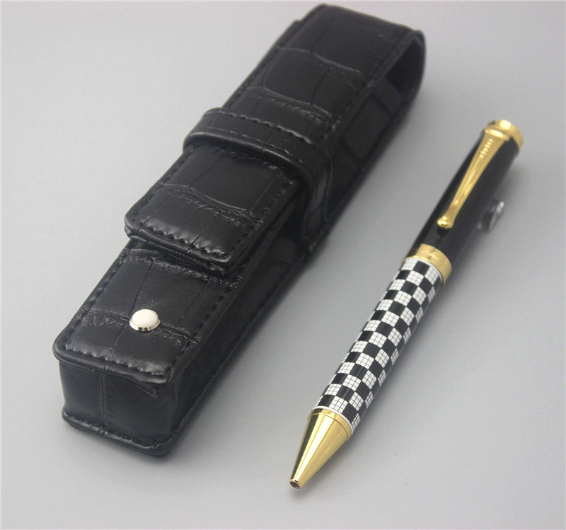JINHAO new arrival ballpoint Pen and pen bag School Office Stationery luxury roller ball pens men women send a refill 017 white jinhao ballpoint pen and pen bag school office stationery roller ball pens men women business gift send a refill 012