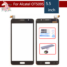 5.5 For Alcatel Pop 4S OT5095 5095 5095Y Touch Screen Digitizer Sensor Outer Glass Lens Panel Replacement цена
