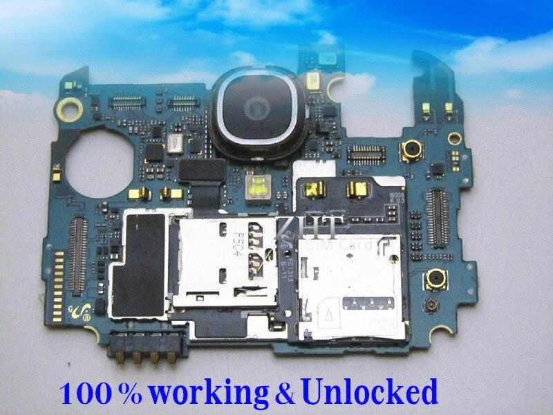 Idioma internacional Original de Google placa base para samsung GALAXY S4 i9505 LTE 16 GB placa PCB limpio IMEI