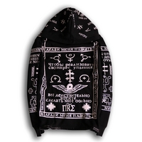 Autumn And Winter Fashion Men S Clothes Men S Leisure Hoodies White Special Symbol Design Printing