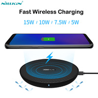 Nillkin 15W Qi Fast Wireless Charger for iPhone X XR XS Max Wireless Charging for Samsung Note 9 8 S9 S8+ Plus Huawei Mate20 Pro