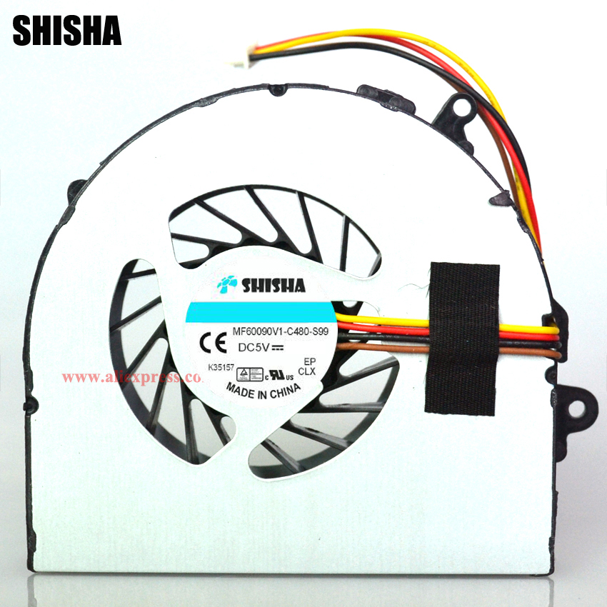 купить Cooling fan for lenovo G480 G480A G480M G485 G580 G585 CPU fan, 100% Brand new genuine G480 G480A laptop cpu cooling fan cooler по цене 323.74 рублей