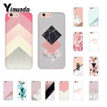 Yinuoda Funny Geometry Splice TPU Soft Silicone Phone Case for iPhone 5 5Sx 6 7 7plus 8 8Plus X XS MAX XR Fundas Capa(China)