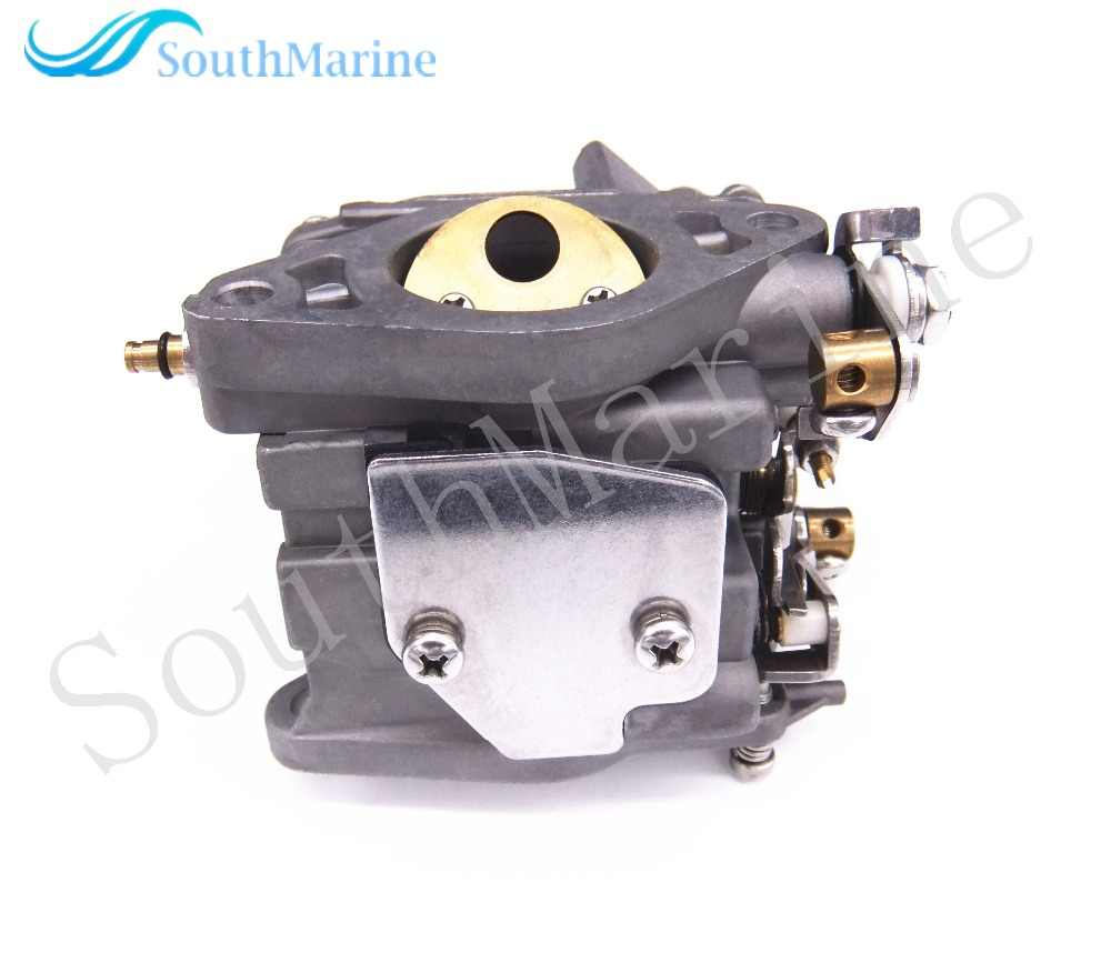 Boat Motor Carburetor Assy 66M-14301-12-00 for Yamaha 4-stroke 15hp F15  Electric Start Outboard Engine, free Shipping