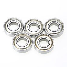 5 Pieces 6001ZZ Ball Bearings Shielded Deep Groove Radial Ball Bearing 12mm * 28mm * 8mm For Electric Motors Conveying Mayitr стоимость