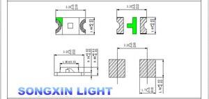 1000 шт Бесплатная доставка 1206 синий светодиод супер яркие SMD светодиодные диоды 3,2*1,6*0,8 мм 460-470NM светоизлучающие диоды SMD 1206 Led синий