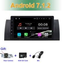 2 ГБ Оперативная память Android 7.1.2 автомобиля DVD видео для BMW 5 серии E39 E53 с радио BT WI-FI gps