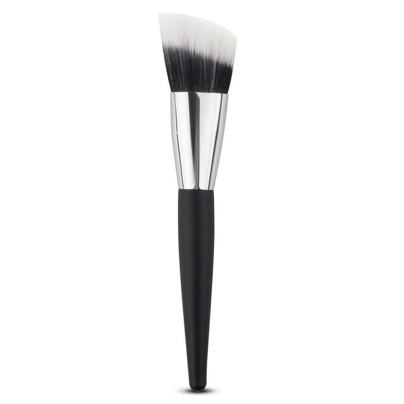 Maquillaje Pro Estilo Oblicuo Maquillaje Cheek Face Fundación de Polvo Cosmético