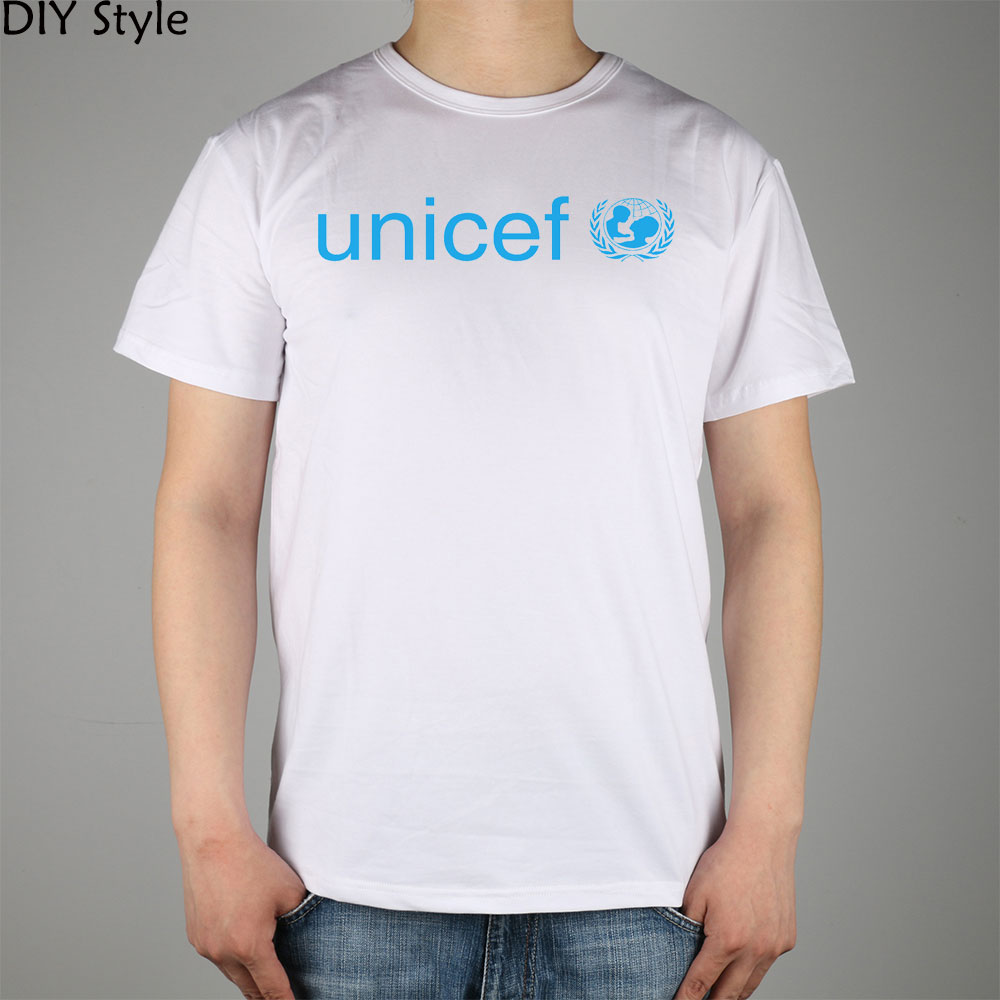 Stati Lycra Cotone Degli Unicef Shirt Nationst Maglietta Uomini Top N8Ok0nXwP