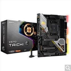 X570 Taichi AMD X570 AM4 gniazdo DDR4 ATXmotherboard w Płyty główne od Komputer i biuro na