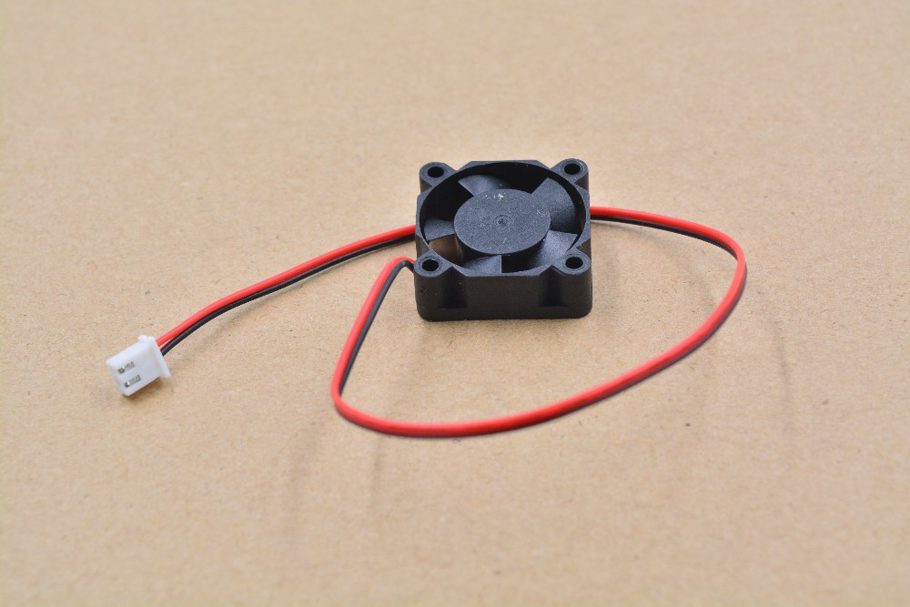 3d Printer Part Fan 2510 2pins 25mm 25x25 X10 Mm 2.5cm Graphics Card  DC 5V / 12V  24V  2P 1pcs