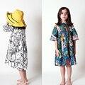 PRÉ VENDA 2017 PRIMAVERA BABY GIRL ROUPAS de VERÃO VESTIDO PARA MENINAS BOBO CHOSES VETEMENT ENFANT marca kdis roupas BOBO CHOSES VERÃO