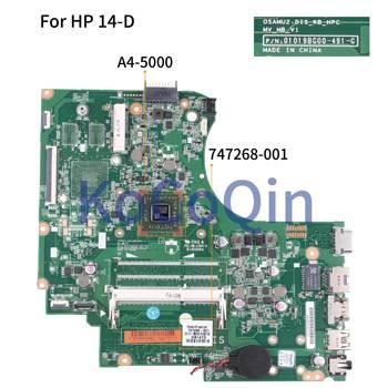 KoCoQin Laptop motherboard Para HP 245 G2 14-D A4-5000 Mainboard 747268-747268-601 CPU 01019BG00 001