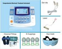 Сочетание ультразвуковой иглоукалывания лазерная физиотерапия машина EA VF29 Бесплатная доставка
