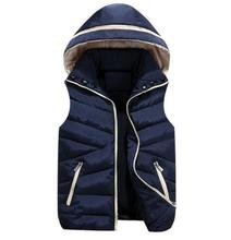 Women Autumn winter plus size shiny hooded zip Double-sided thick down vests female oversized warm down parkas lady down jacket