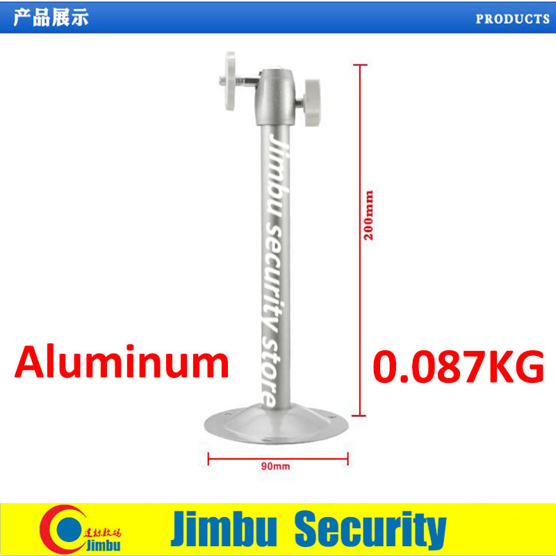 cctv camera aluminium bracket round base security camera bracket Lifting scaffold 0 087KG 90MMX200MM 6PCS