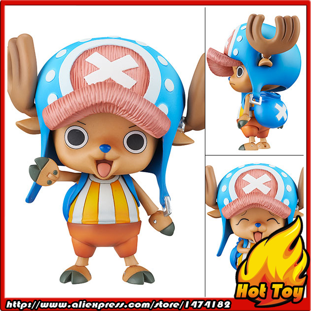 100% Original MegaHouse Variable Action Heroes Action Figure - Tony Tony Chopper from ONE PIECE japanese anime one piece original megahouse mh variable action heroes complete action figure dracule mihawk