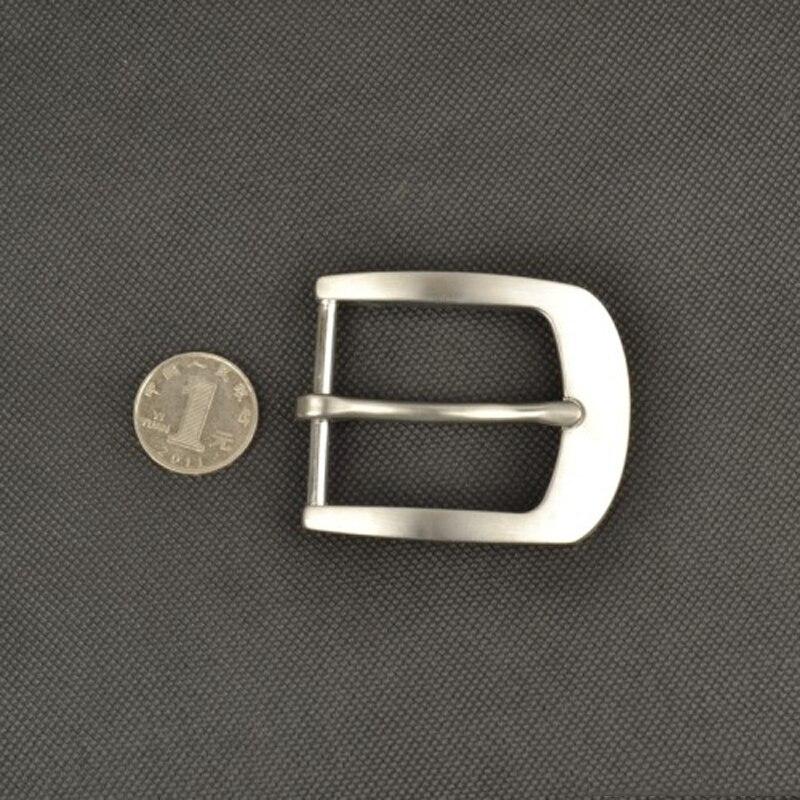Модные однотонные нержавеющая сталь металл 40 мм кожаный ремень пряжкой 3 шт./лот