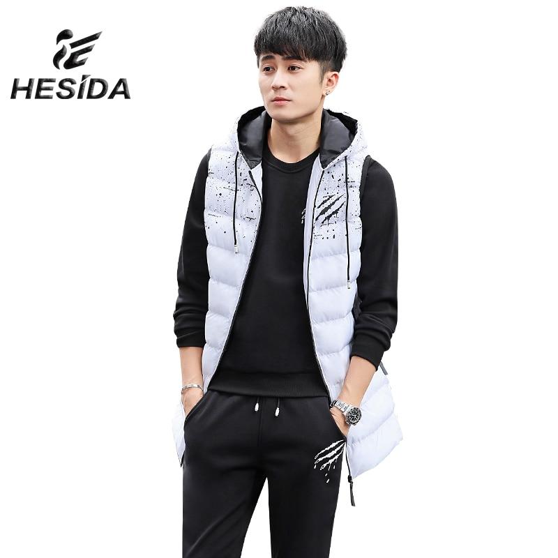 2017 Men 3 Pcs Winter Cotton Sport Suit Running Hoody Vest Set Long Down Jacket Hoodie Warm Sweatshirt Sleeves Jogging Tracksuit high low hem long sleeves sweatshirt