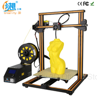 CREALITY 3D CR 10 DIY 3d Printer Kit Large Printing Size 300 300 400mm High Quality