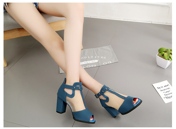 HTB17tZgfCCWBuNjy0Fhq6z6EVXaN Women sandals 2019 fashion summer shoes women high heels hollow mesh sexy sandals size 35 - 43 mujer sandalias