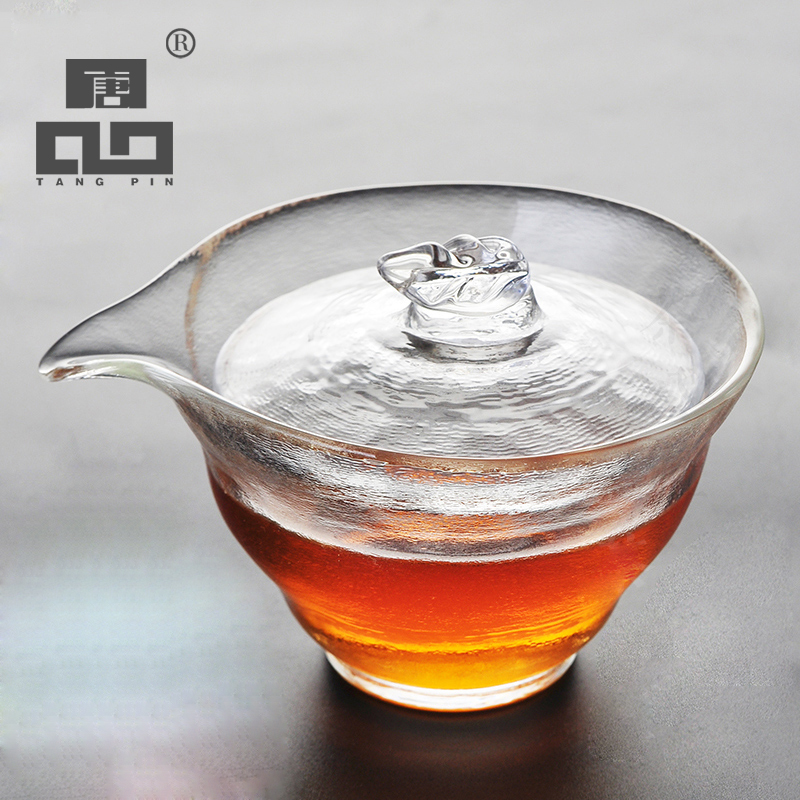 TANGPIN 2017 new arrival japanese heat resistant glass teapot kettle glass gaiwan cup of tea coffee