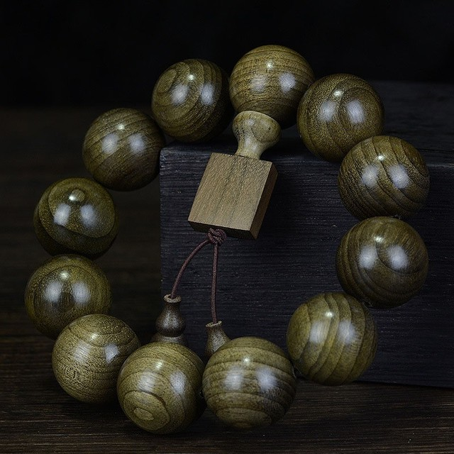 Natural Green Buddha Bracelet