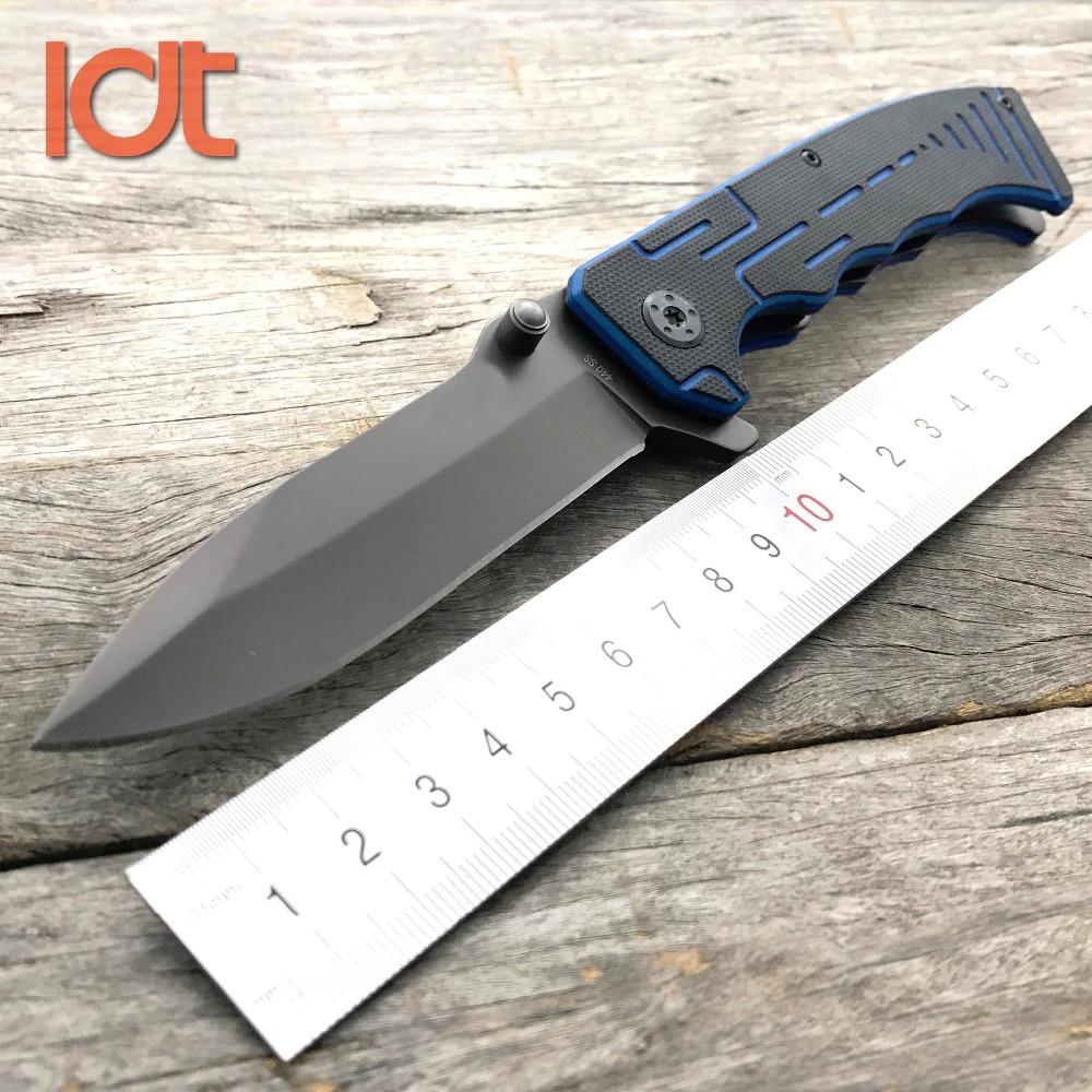 LDT P22 TAC összecsukható kés 440SS kés G10 fogantyú katonai - Kézi szerszámok - Fénykép 1