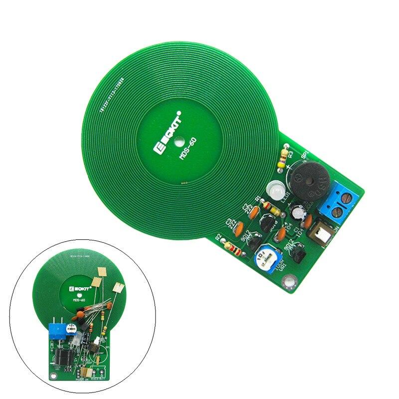 2Pcs DIY Kit Metal Detector Kit Electronic Kit DC 3V-5V Non-contact Sensor Board
