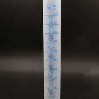 500ml Plastic Measuring Cylinder Graduated Cylinders For Lab Supplies Laboratory Tools