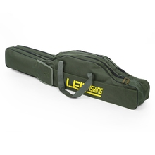 LEO 100cm/150cm Portable Folding Fishing Rod Carrier Fish Pole Tools Storage Bag Case Pro Gear Tackle