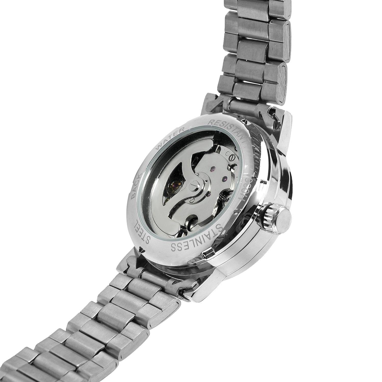 WINNER Ladies Classic Automatisk Mekanisk Watch Selvvindende Skeleton - Dameure - Foto 4