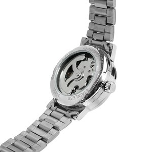 Image 4 - WINNER Ladies Classic Automatic Mechanical Watch Self Wind Carving Skeleton Roman Index Dial Full Steel Women Wrist Watches