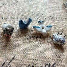 """18 мм 20 шт./упак. """"Животные"""" Китай Керамика фарфор бусины Подвески бисер для украшений поиски аксессуары"""