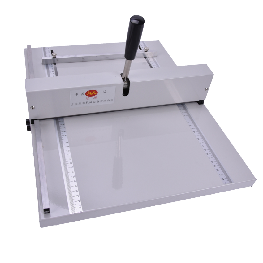 Brand new Manual paper creaser creasing machine 350mm,A3 A4 Card covers, High gloss covers office paper creaser creasing machine for paper photo card 460mm manual scoring machine 18