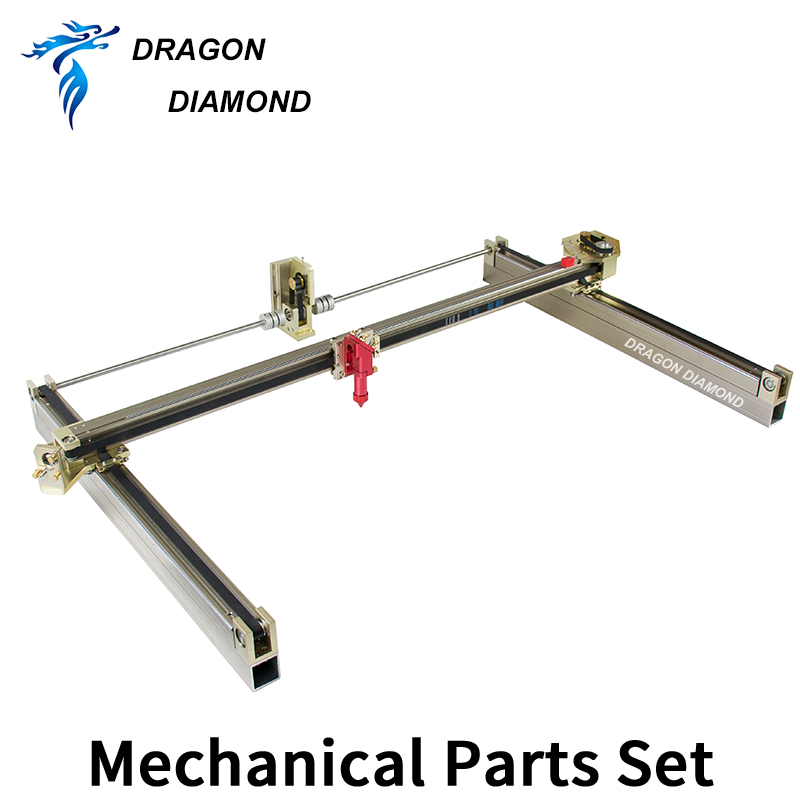 DRAGON DIAMOND Laser Mechanical Set 600*400mm Outer Sliding Rails Kits DIY Spare Parts For 6040 CO2 Laser Engraver Cutter