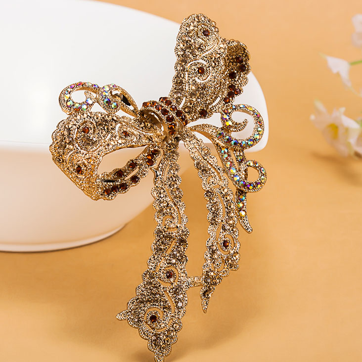 Very Kawaii Bow Rhinestone Wedding Brooches collar Women Party Broach Fashion Relogios Feminino Broch Hijab Pins Woman Bijhoux