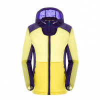 Spring Summer Quick Dry Patchwork Sunscreen Jacket Windproof Hoodies Light Outdoor Camping Climbing Running Skin Couple