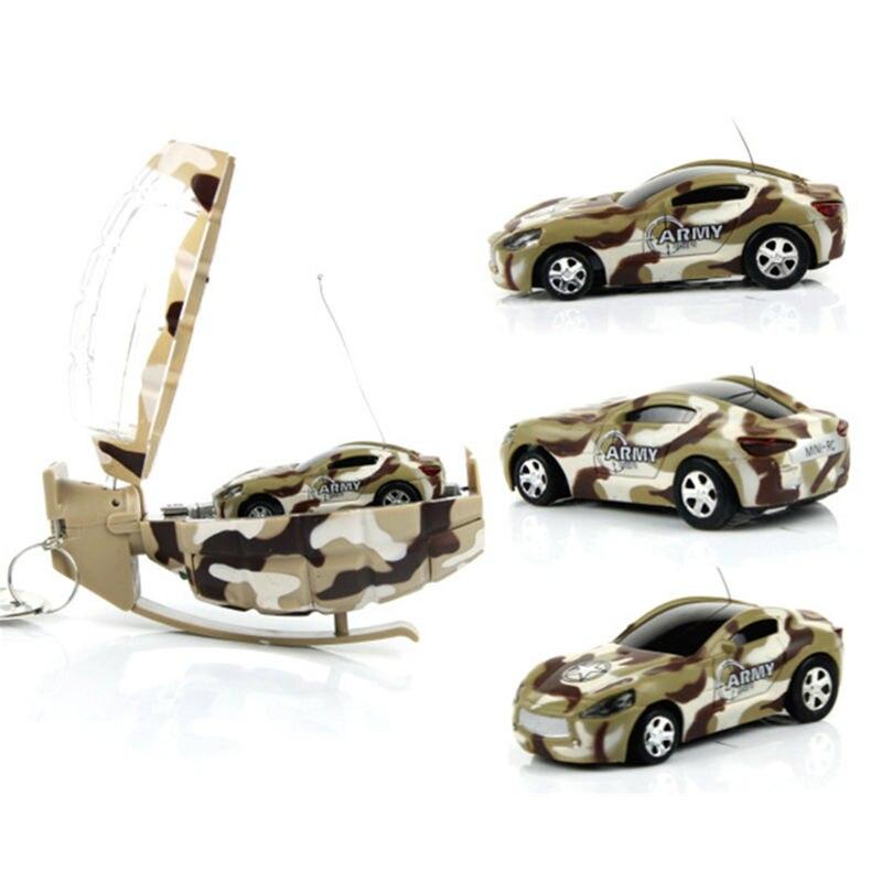 1:63 Mini RC Cars Cute Hand Grenades Shape Flashing Camouflage Remote control Car Creative Military Rc Mode